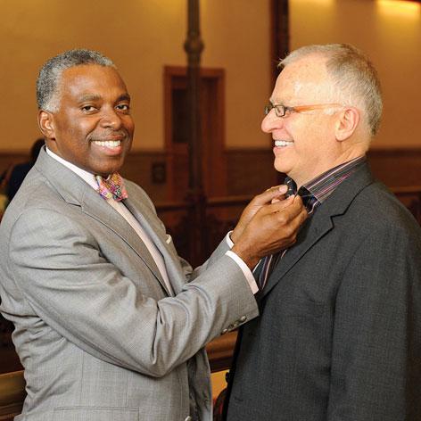 Commisioner Bevan & Dr. Gary