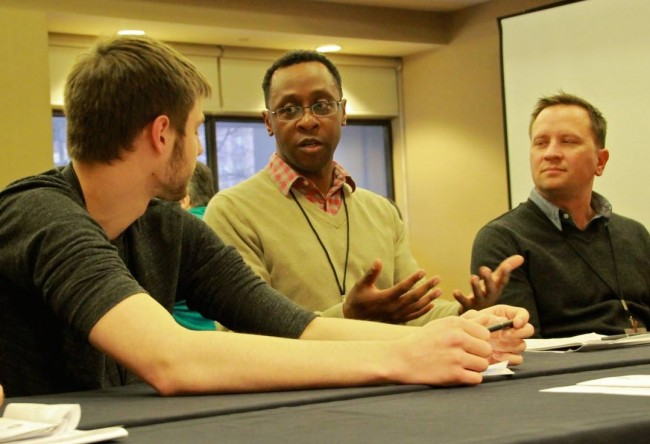 Participants at the 2014 Wisconsin LGBT Leadership Conference. Photo by Patrick Farabaugh, Our Lives Magazine.